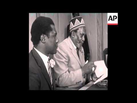 CAN 298 KENYATTA'S SPEECH ABOUT THE REPUBLIC