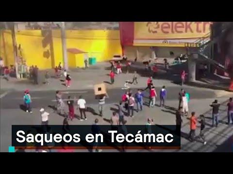 Saqueos en Tecámac - Saqueos