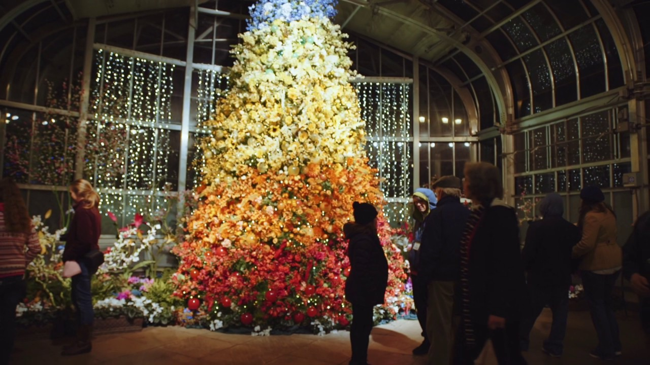 Dominion energy gardenfest of lights youtube for Lewis ginter botanical gardens christmas