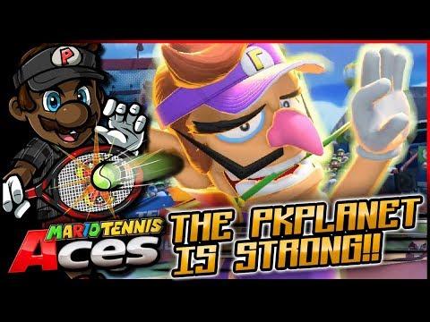 The PKPlanet is Strong! | Mario Tennis Aces w/ @PKSparkxx! [#05 - Waluigi]