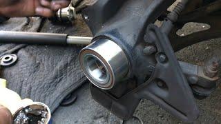 How I Replaced My Audi TT Wheel Bearing! (Manual tools)