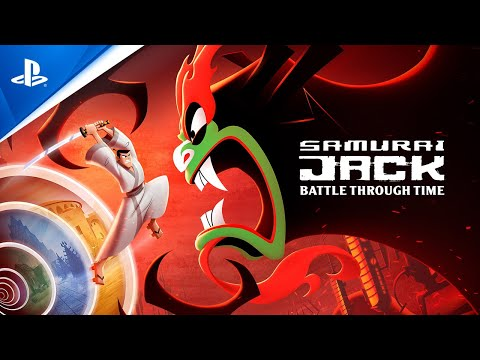 Samurai Jack: Battle Through Time - Release Date Trailer | PS4