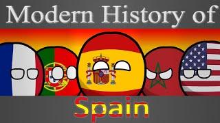 Countryballs | Modern history of Spain