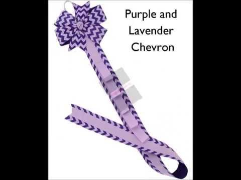 Little Girl Mart: Ribbon Hair Bow Headband Holders