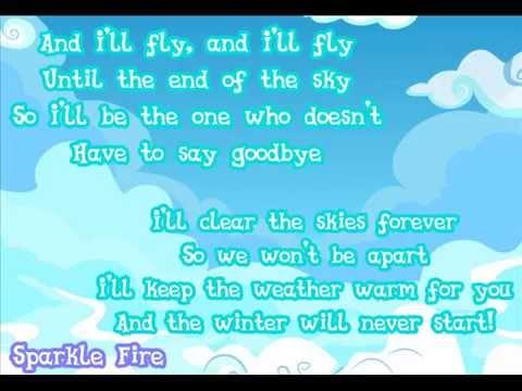 """MLP: Season 5 - """"I'll Fly"""" Lyric"""