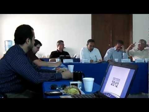 Reunión Bloque Industrial Regional de Canacintra 2012