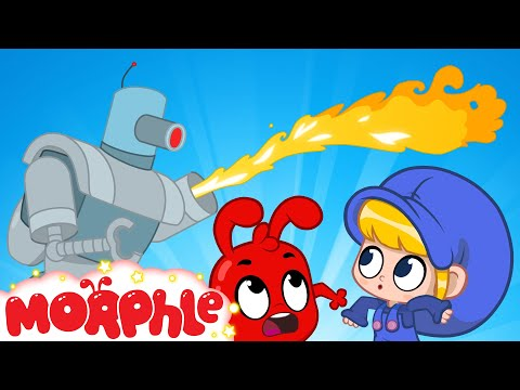 Morphle and the Super Robot   Robots and Superheroes for Kids   My Magic Pet Morphle