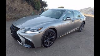 2019 Lexus LS500 F-Sport - One Take
