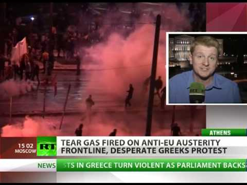 'Greece faces civil war if it can't face bankruptcy'