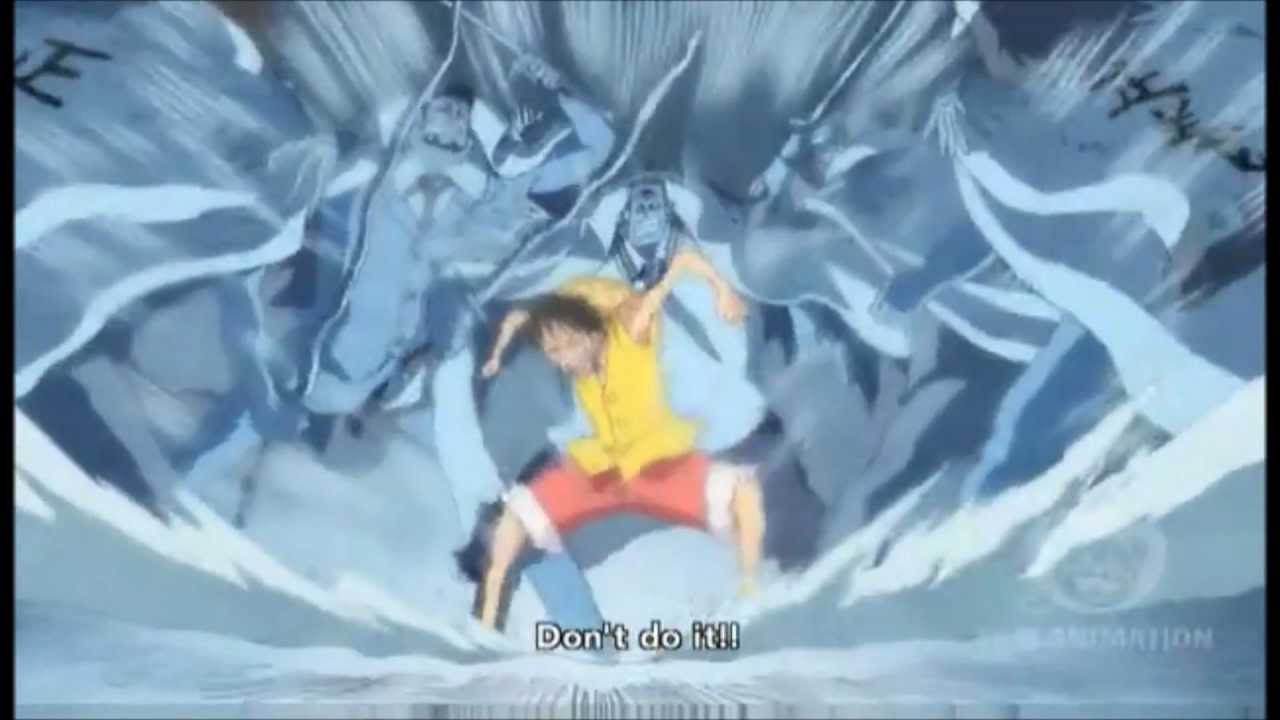 Inuzuma had cut a bridge out of the concrete, which luffy and sabo were racing up towards brother. Reactions To Luffy S Conqueror Haki By Whitebeard Pirates And Marines At Marineford Luffy One Piece Gif One Piece Episodes