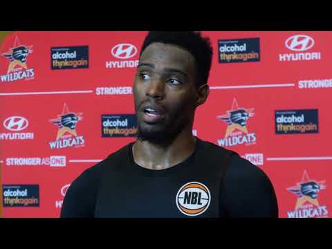 Perth Wildcats - Derek Cooke Jr. Press Conference - 10 January 2018
