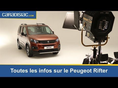 Le nouveau Peugeot Rifter sous toutes les coutures