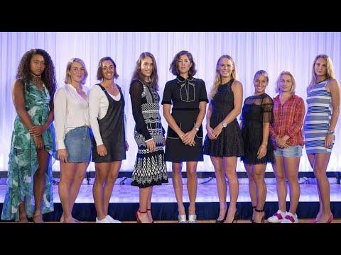 Wimbledon Party 2018 - Stars of women's tennis attend WTA