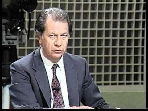 Ricardo Lagos y el dedo - De Cara al País - Ricardo Lagos faces Pinochet on national television CC