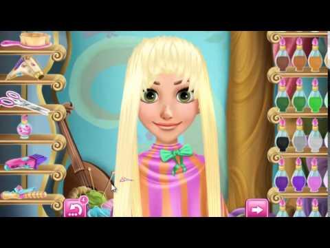 Реальные прически: Рапунцель - игра для девочек
