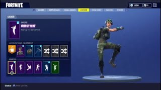 Fortnite - Freestylin Emote/Dance From Twitch Prime Loot Drop