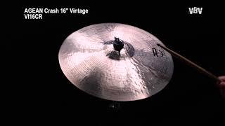 "16"" Crash Vintage video"