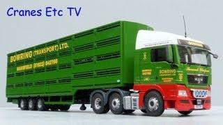 Corgi MAN TGX Tractor + Livestock Trailer