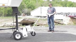 Parkit360 - Transformer 5th Wheel Trailer - Landing Leg Stabilizer Bar Connection Tutorial