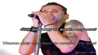 Depeche Mode   Soothe My Soul karaoke