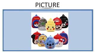 Cartoon Kids School Bags