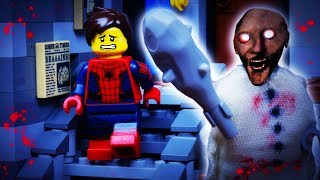 GRANNY LEGO SPIDERMAN / HORROR GAME GRANNY / STOP MOTION ANIMATION
