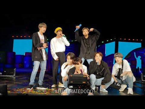 190504 Anpanman @ BTS 방탄소년단 Speak Yourself Tour In Rose Bowl Los Angeles Live Concert Fancam