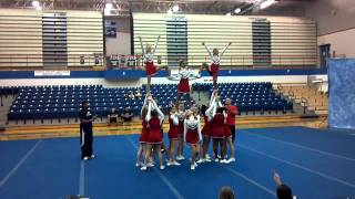 Santa Fe Trail best of midwest cheer competition