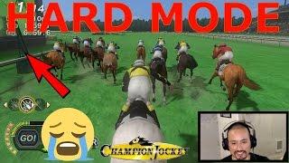 Champion Jockey G1 Jockey & Gallop Racer HARD MODE