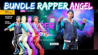 BUNDLE RAPPER ANGEL !!! CELANA ANGEL DI KELUARIN LAGI !! - GARENA FREE FIRE