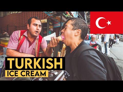 TURKISH ICE CREAM GONE WILD! Istanbul, Turkey