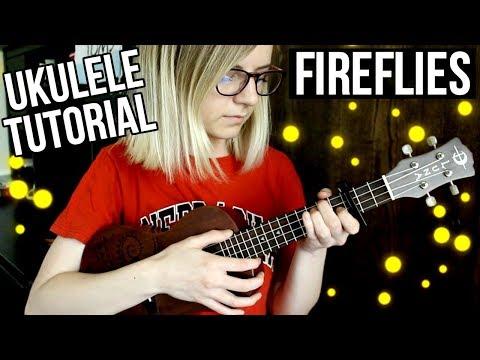 Fireflies - Owl City | EASY UKULELE TUTORIAL