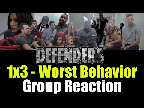 Defenders - 1x3 Worst Behavior - Group Reaction