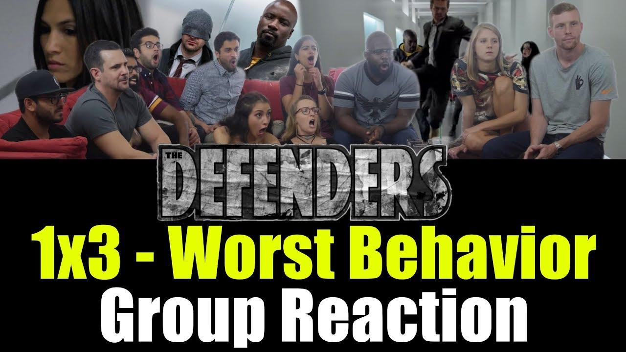 Download Defenders - 1x3 Worst Behavior - Group Reaction