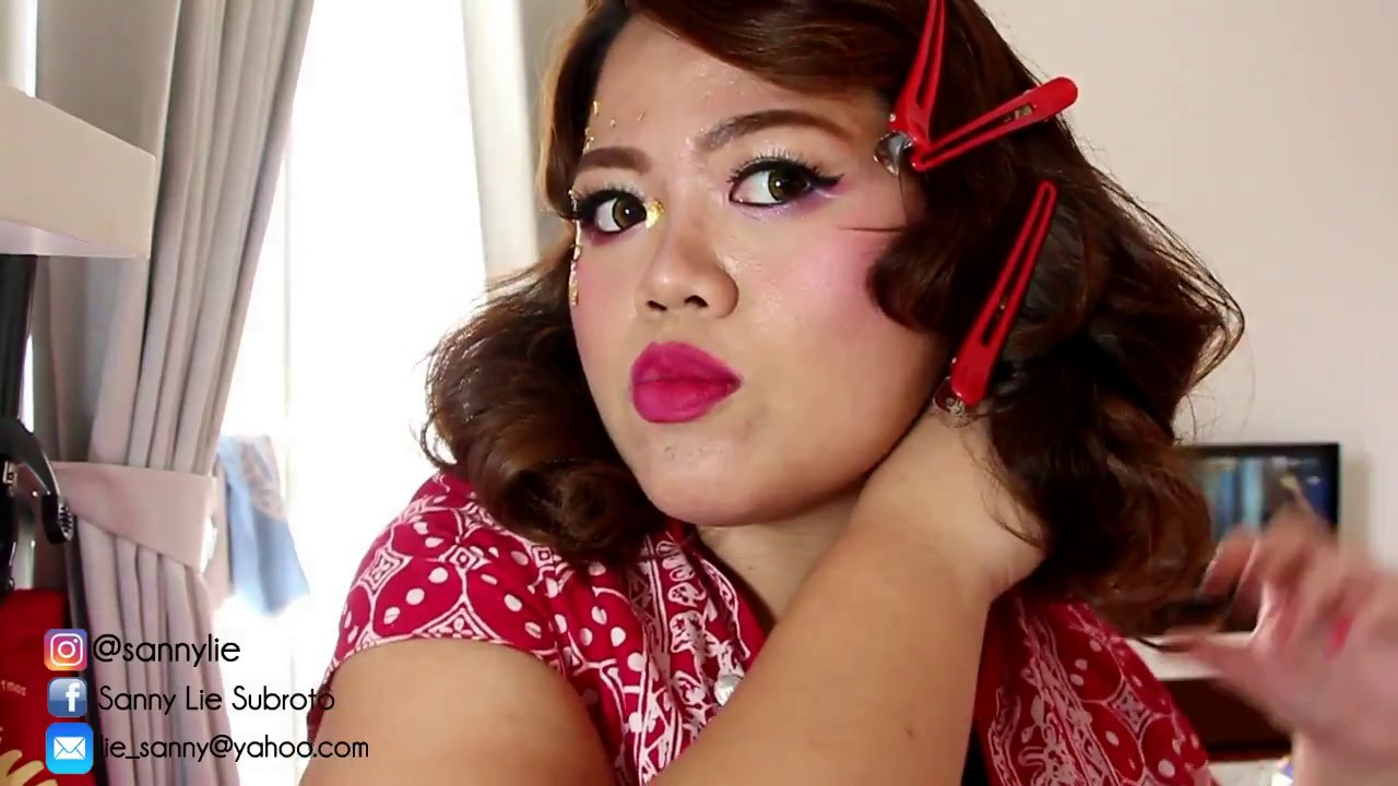 Vintage Hair Style For Chinese New Year Youtube