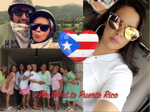 We went to Puerto Rico