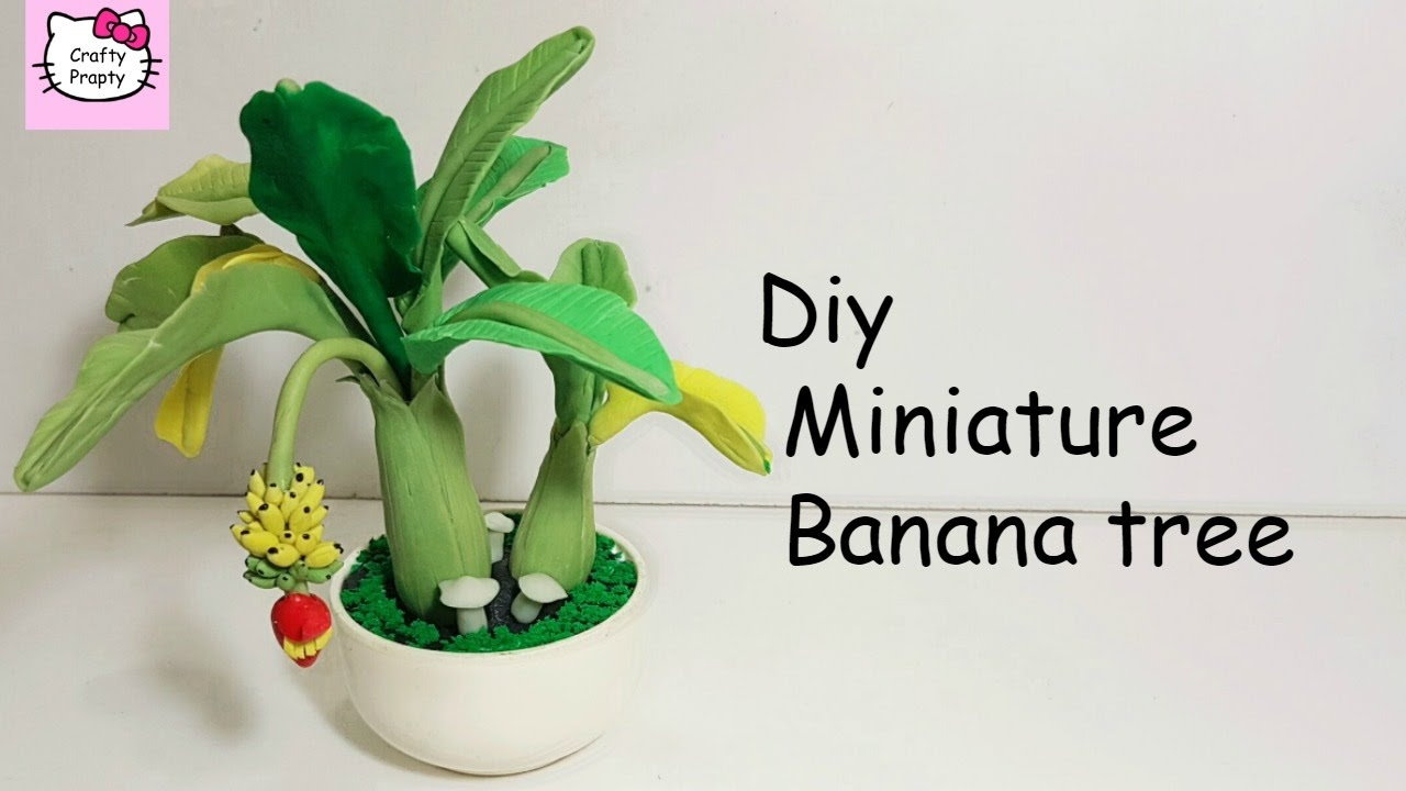How to make a tree of plasticine with your own hands 26