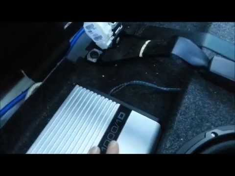 How to install a subwoofer and wire a amplifier in a dodge ram 1500 2013