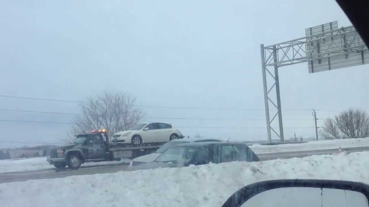 Wisconsin State Trooper seriously injured in car crash on Hwy 41