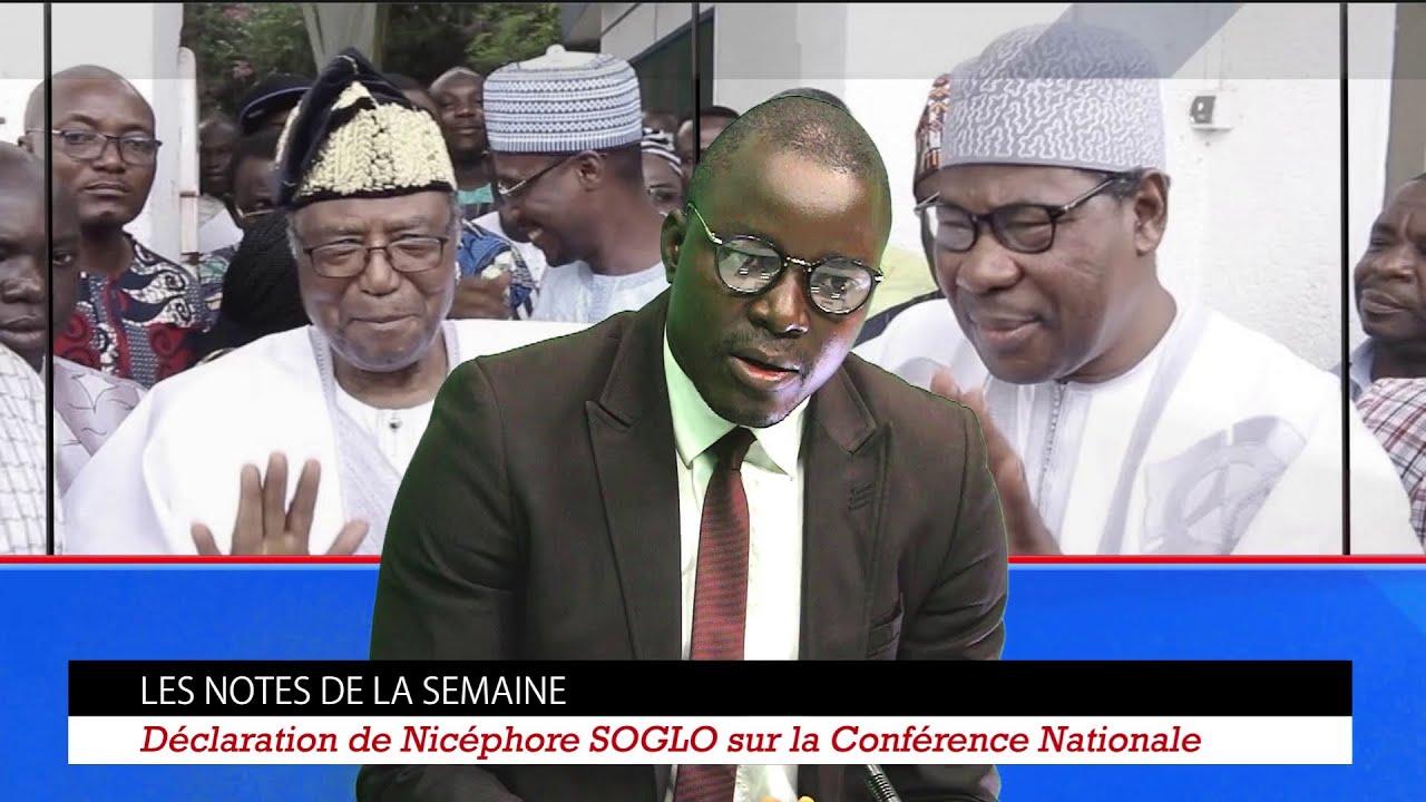 Carré Politique : Nicéphore Soglo sur la Conférence nationale / Séfou Fagbohoun au Bloc Républicain