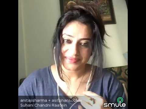 Suhaani chaandani raatein... Asif phansopkar + Anitaji sharma