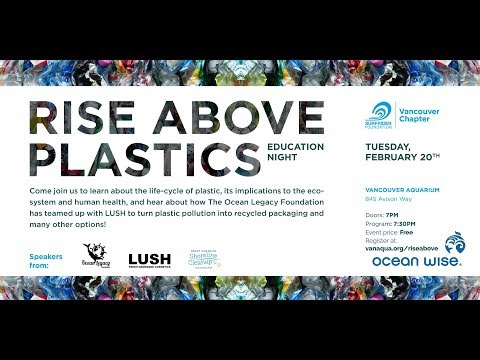 Rise Above Plastics  | Ocean Wise