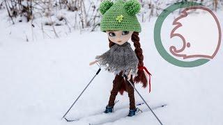 как сделать лыжи для кукол