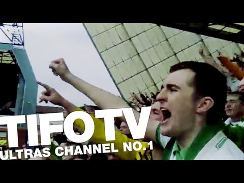 CELTIC FANS. .. CHANT 'COME ON YOU BOYS IN GREEN' - Ultras Channel No.1