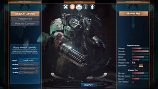 Space Hulk: Deathwing - Class preview + Full Group playthrough