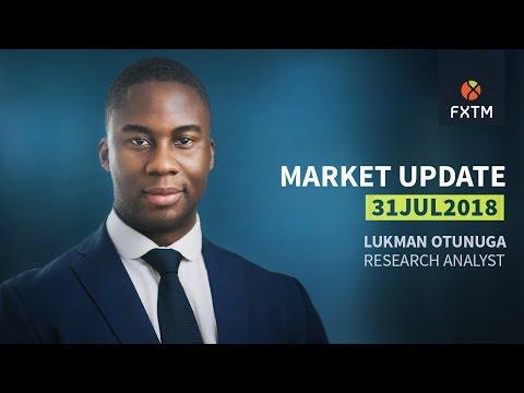 FXTM Forex Market Update | 31/07/2018