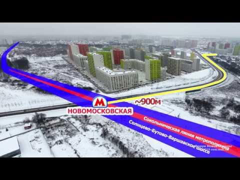 Станция метро Новомосковская. Где она будет?