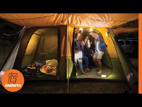& Coleman Instant Up Northstar Dark Room Tent - YouTube