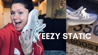 YEEZY BOOST 350 V2 STATIC REVIEW| SIZING FOR WOMEN |