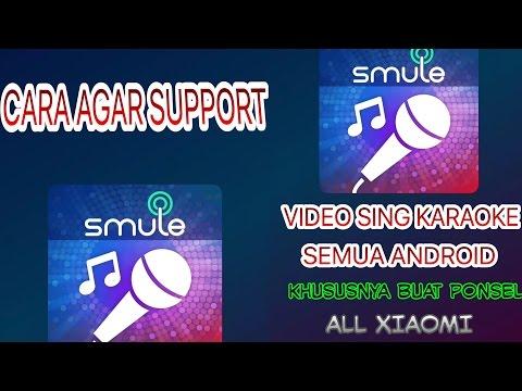 Cara Membuat Video sing karaoke Android Xiaomi